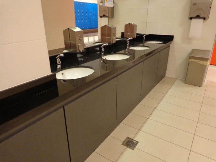 Black Granite Wash Stations