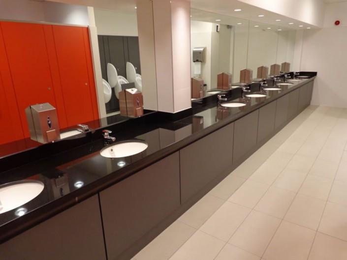 Black Granite Bathroom Vanity Point