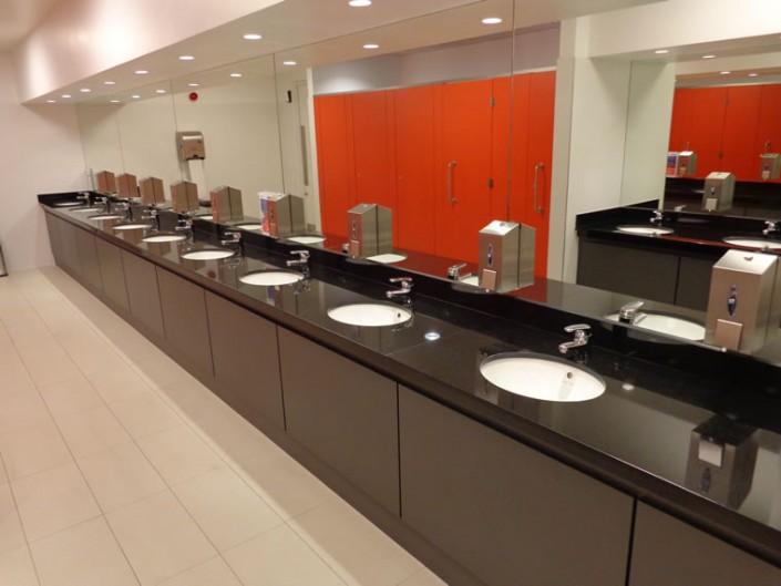 Black Marble Bathroom countertops