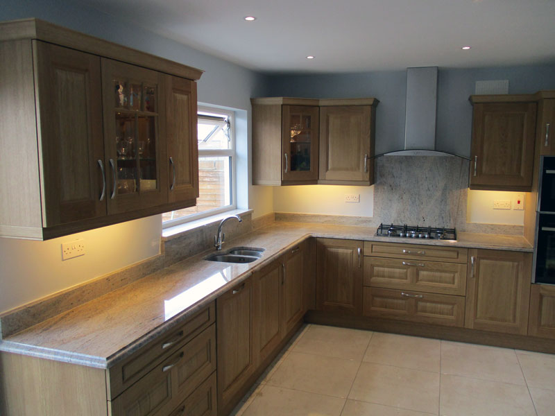 C & G Granite Kitchens in Brown